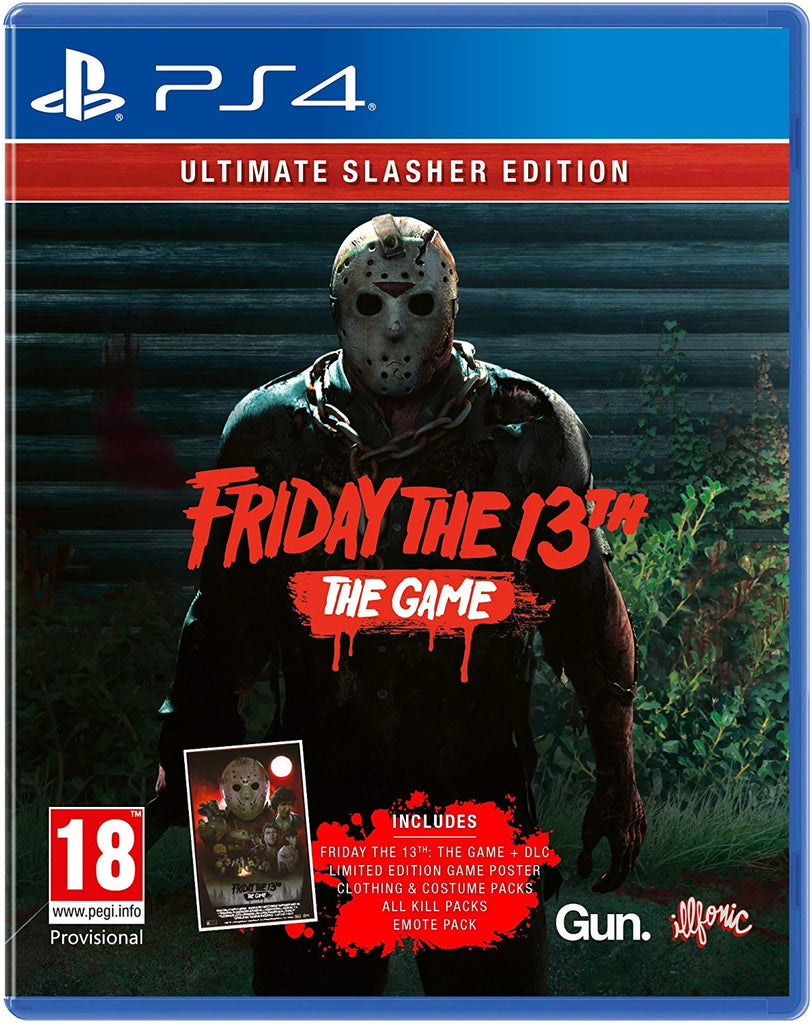 Friday the 13th: The Game Ultimate Slasher Edition (PS4) - Offer Games