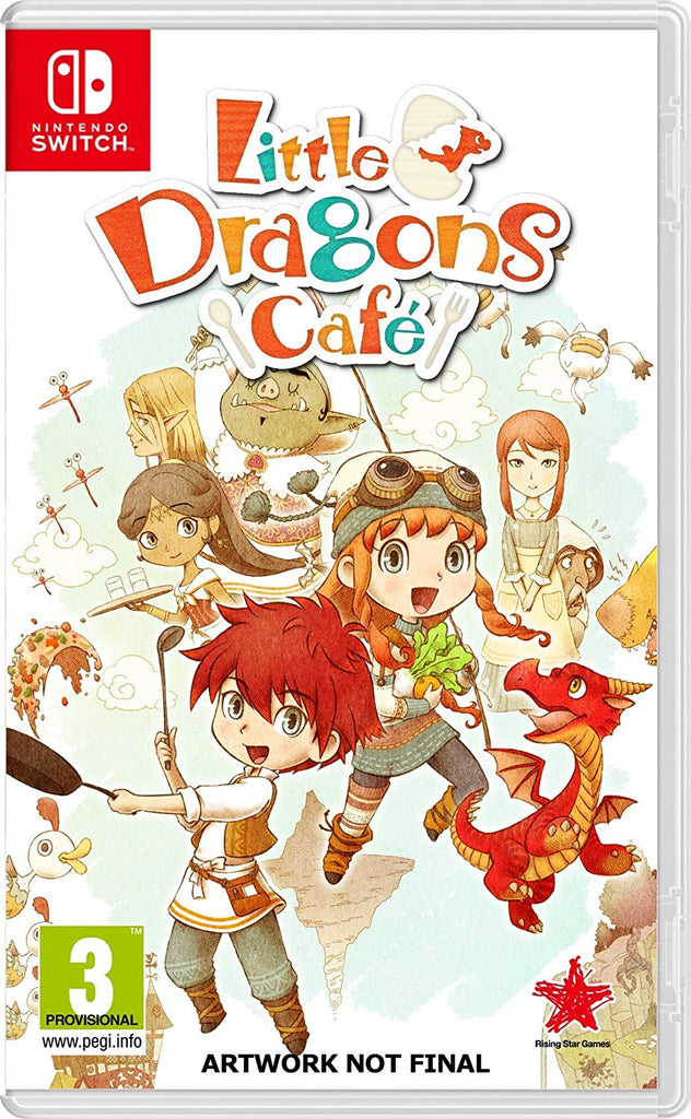 Little Dragons Cafe (Nintendo Switch) - Offer Games