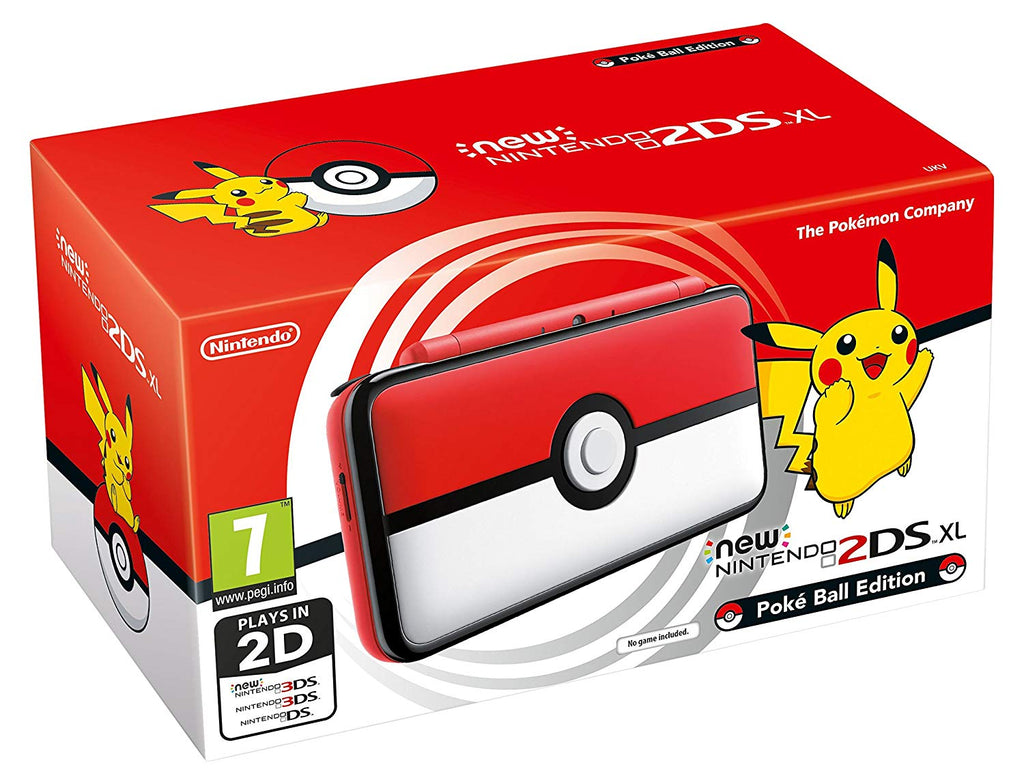 New Nintendo 2DS XL Poké Ball Edition - Offer Games