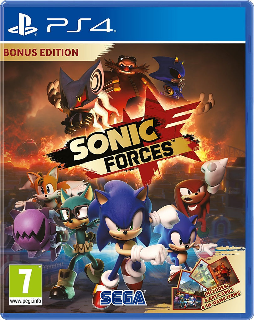 Sonic Forces Bonus Edition (PS4) - Offer Games