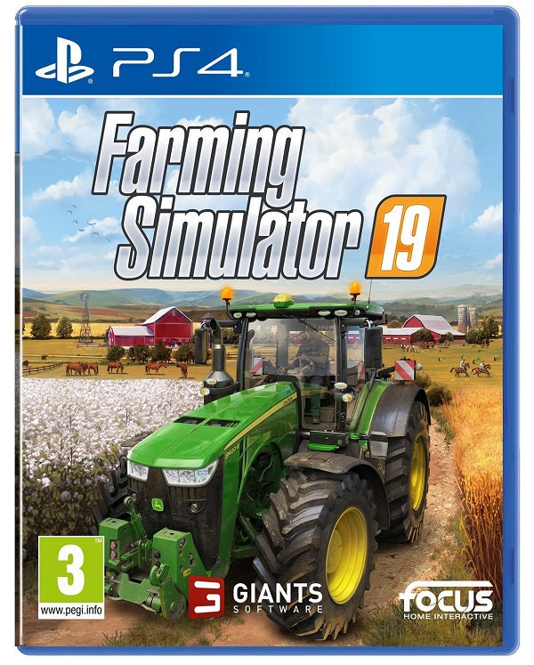 Farming Simulator 19 (PS4) - Offer Games