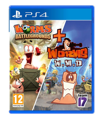 Worms Battleground + Worms WMD (PS4) - Offer Games