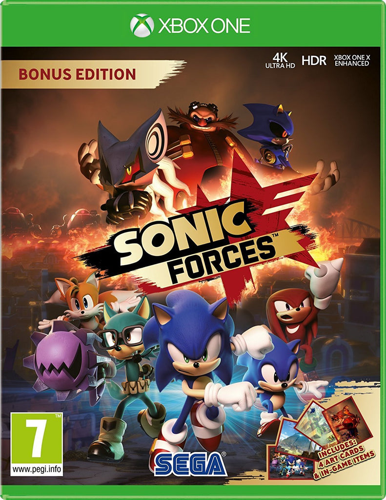 Sonic Forces Bonus Edition (Xbox One) - Offer Games