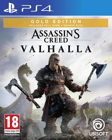 Assassin's Creed Valhalla Gold Edition (PS4)