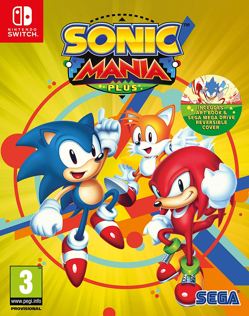 Sonic Mania Plus (Nintendo Switch) - Offer Games