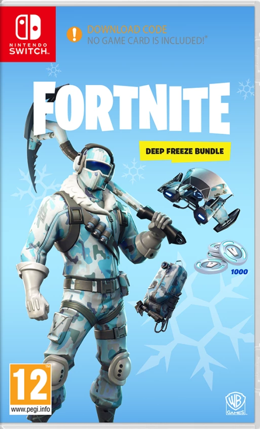 Fortnite Deep Freeze Bundle (Nintendo Switch) - Offer Games