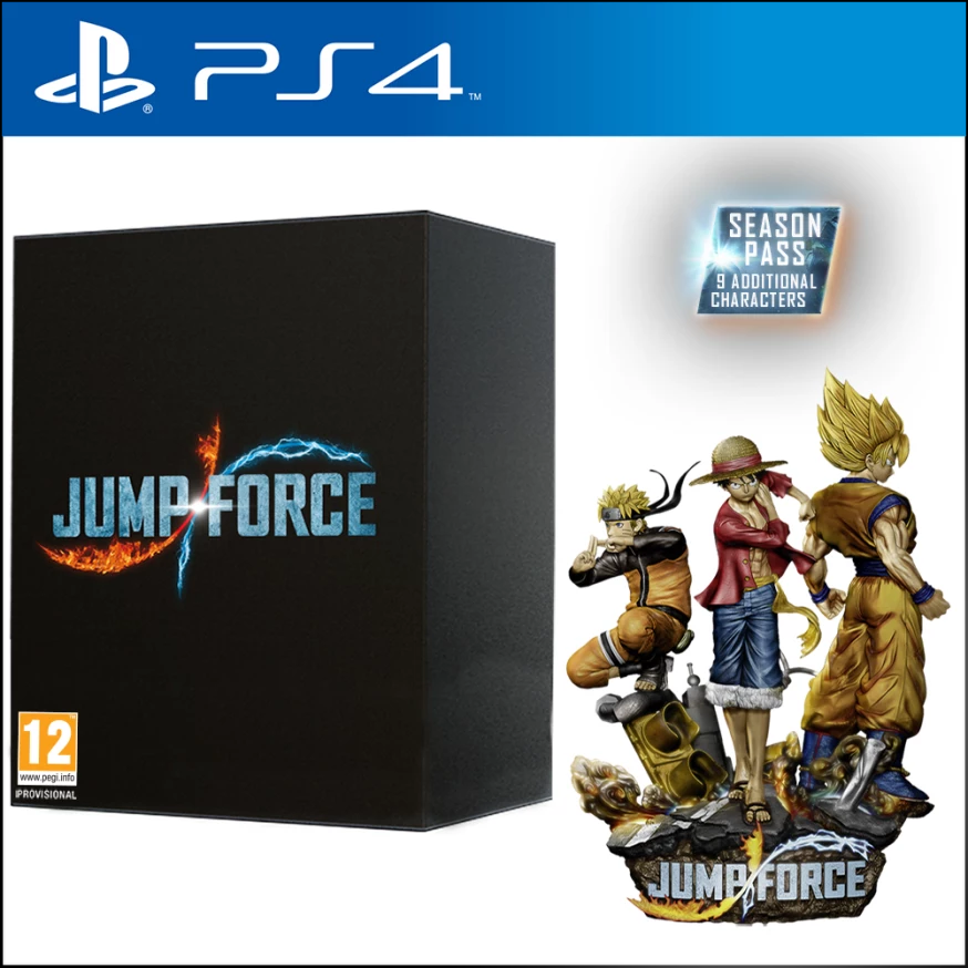 Jump Force Collectors Edition (PS4) - Offer Games