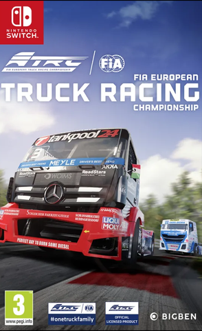 FIA European Truck Racing Championship (Nintendo Switch) - Offer Games