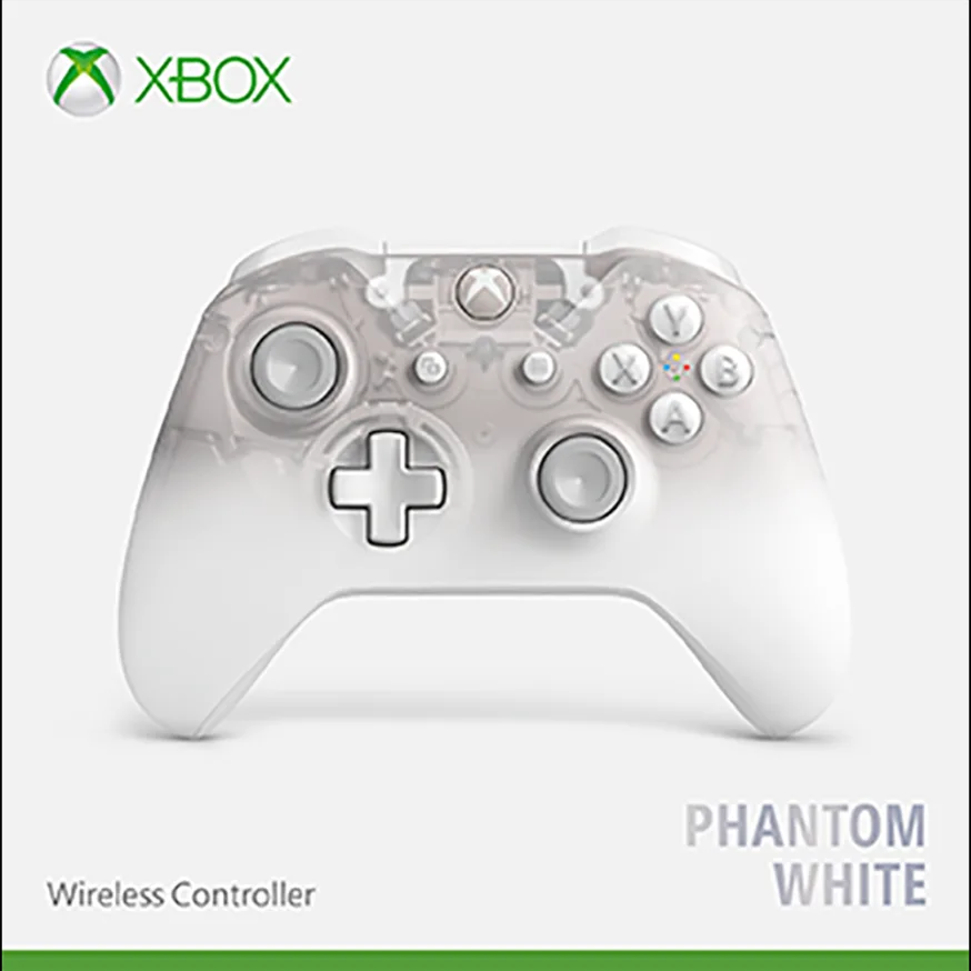 Xbox Wireless Controller - Phantom White Special Edition - Offer Games