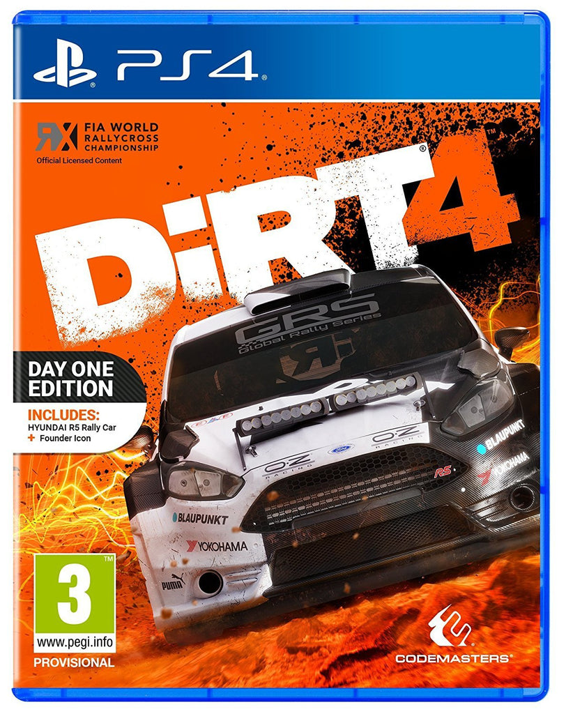 Dirt 4 (PS4) - Offer Games