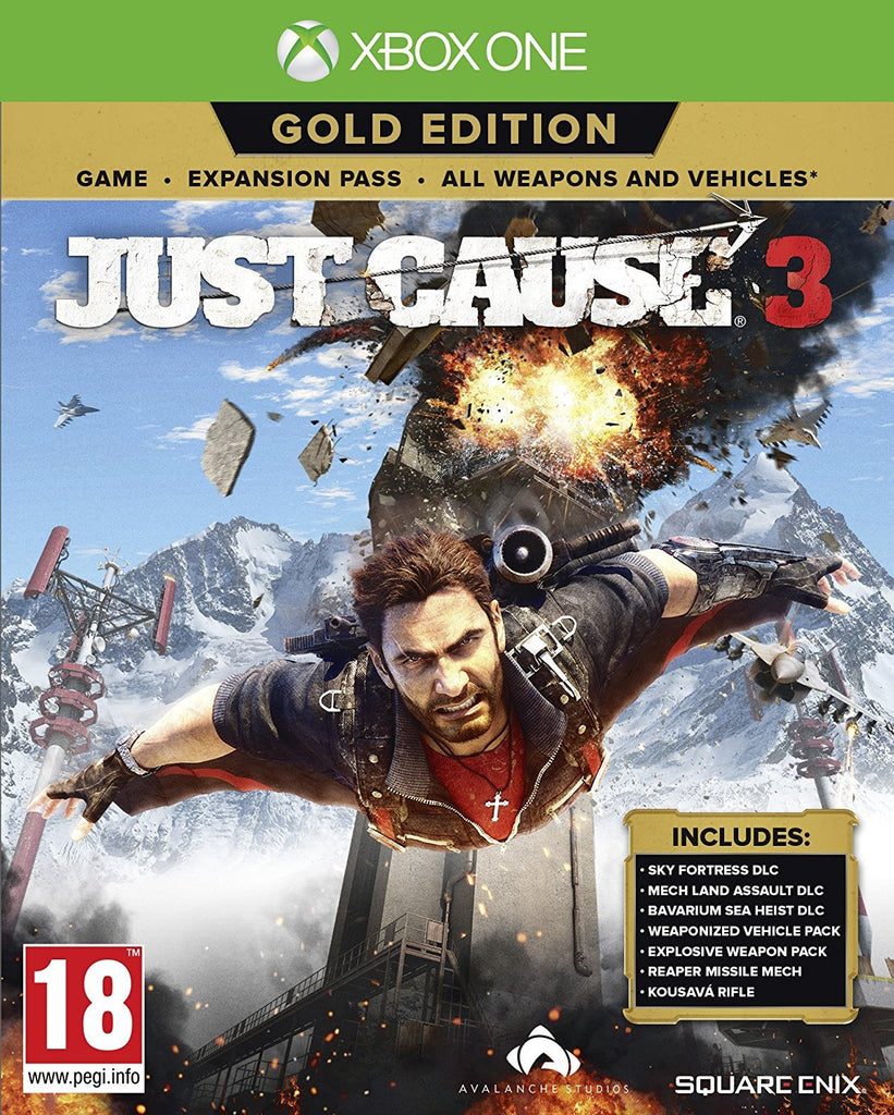 Just Cause 3 Gold Edition (Xbox One) - GameIN
