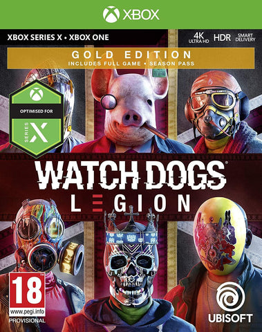 Watch Dogs Legion Gold Edition (Xbox Series X)