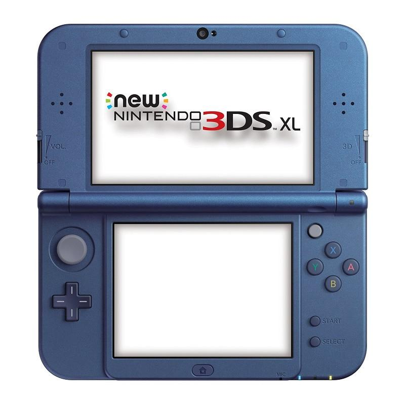 New Nintendo 3DS XL Metallic - Blue - Offer Games