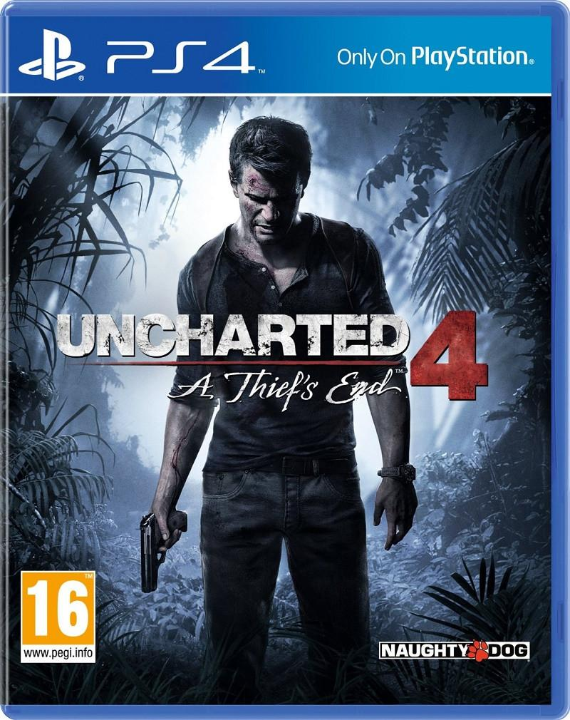 Uncharted 4: A Thief's End (PS4) - GameIN
