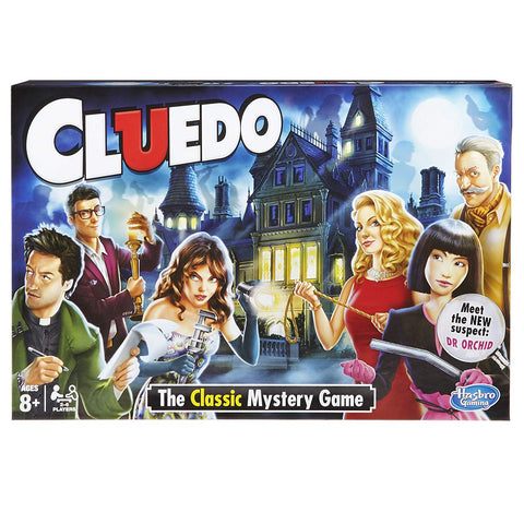 Hasbro Gaming Cluedo the Classic Mystery Board Game - Offer Games