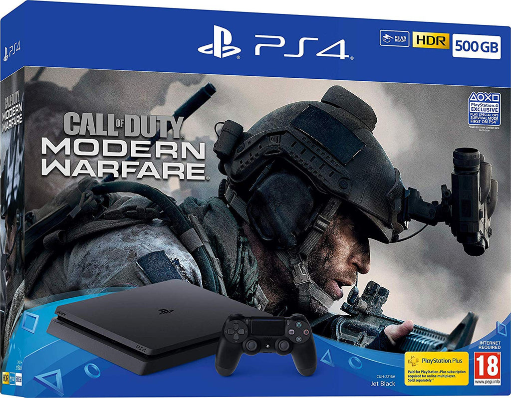 Call Of Duty: Modern Warfare PS4 500GB Bundle (PS4) - Offer Games