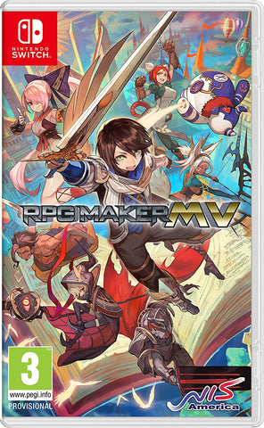 RPG Maker MV (Nintendo Switch) - Offer Games