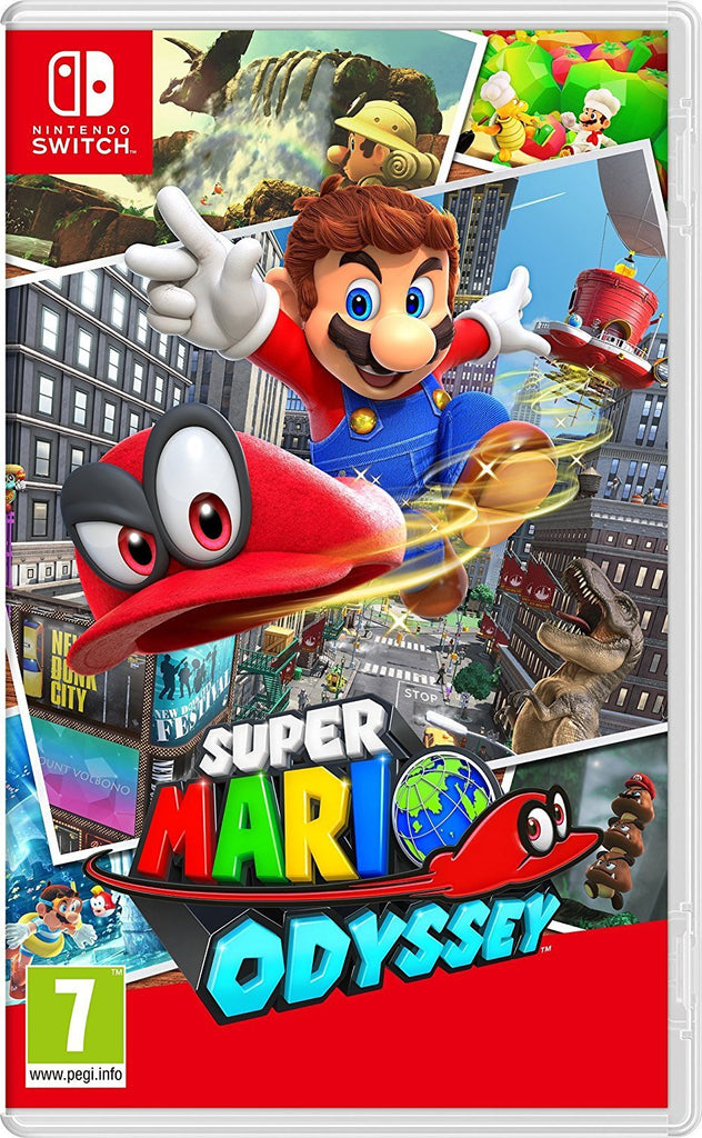 Super Mario Odyssey (Nintendo Switch) - Offer Games