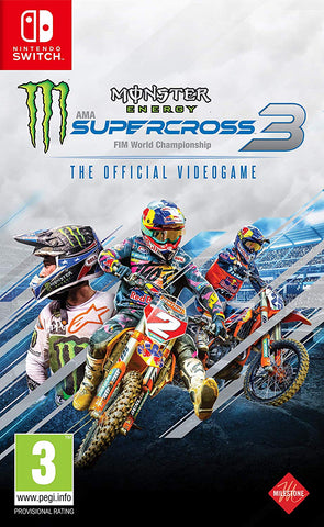 Monster Energy Supercross 3 (Nintendo Switch) - Offer Games