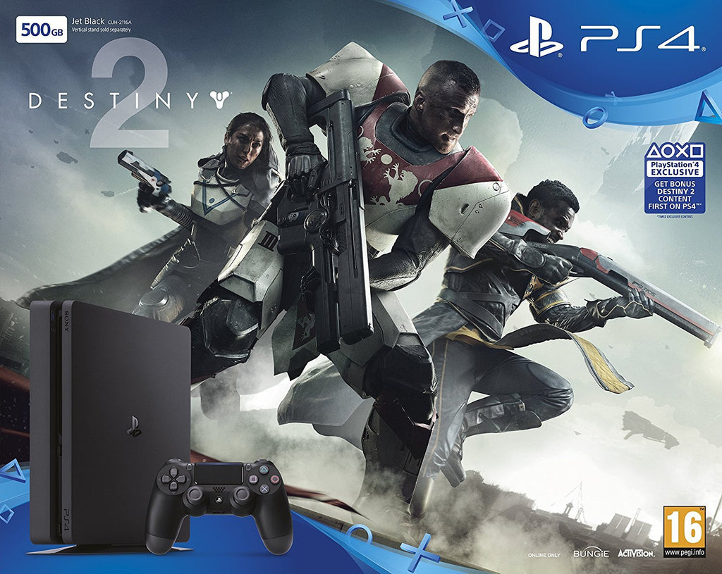 PlayStation 4 Slim 500GB with Destiny 2 - Offer Games