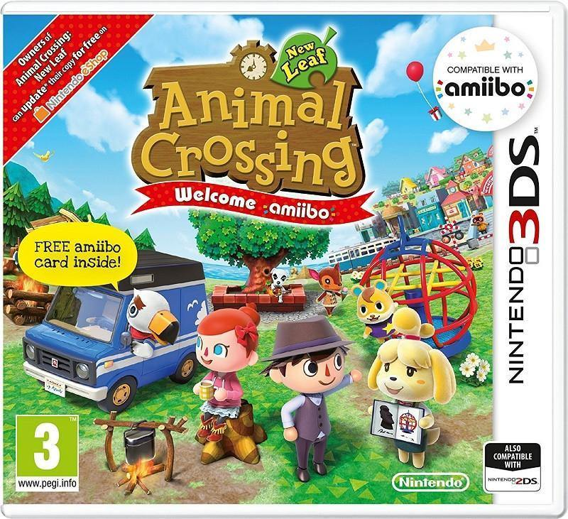 Animal Crossing: New Leaf - Welcome Amiibo! and Amiibo Card (3DS) - GameIN