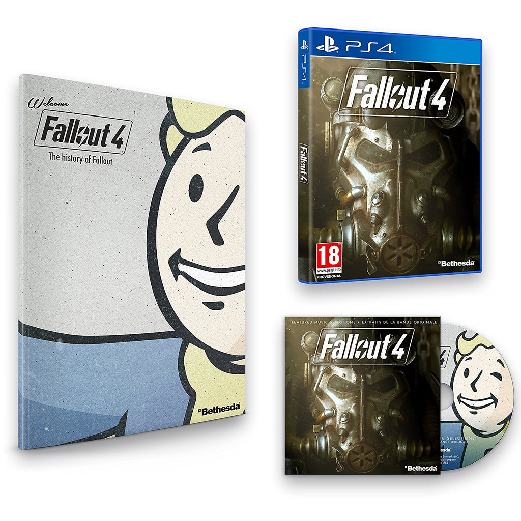 Fallout 4 with Franchise Book and Soundtrack (PS4) - Offer Games