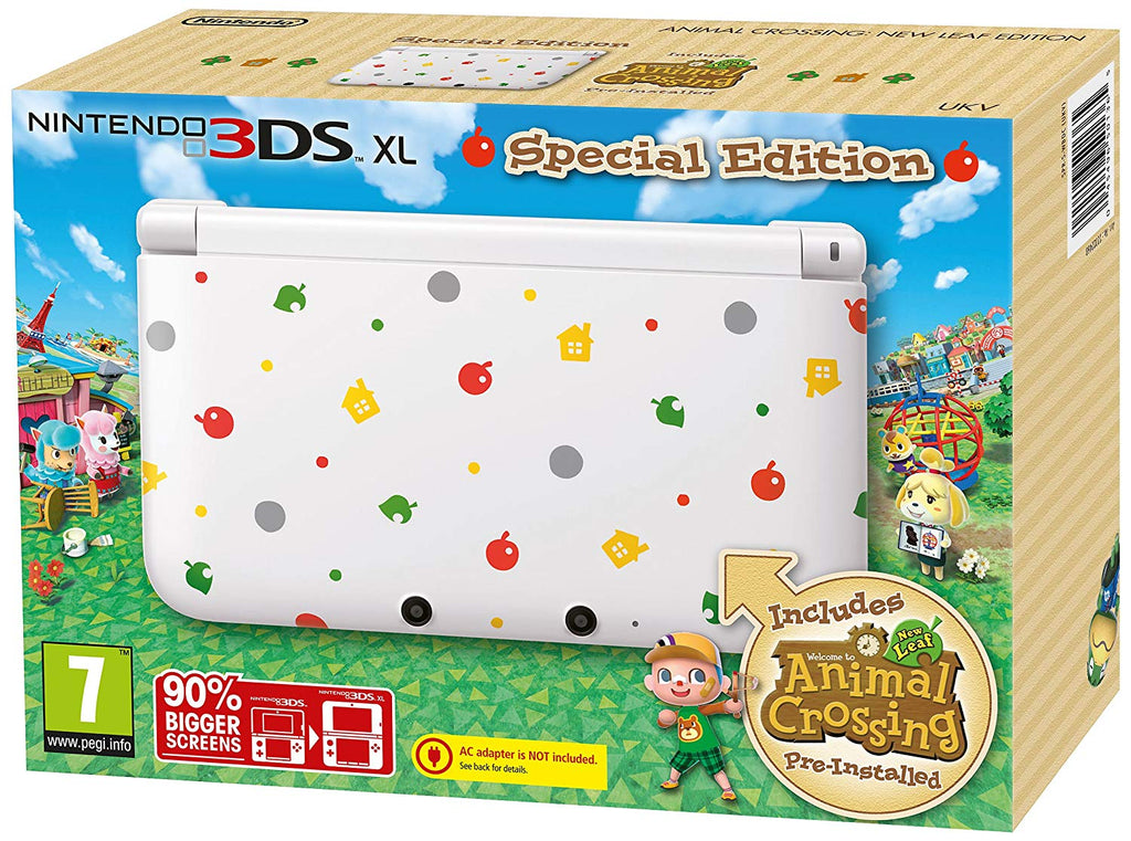 Nintendo 3DS XL Animal Crossing Limited Edition *USED* - Offer Games