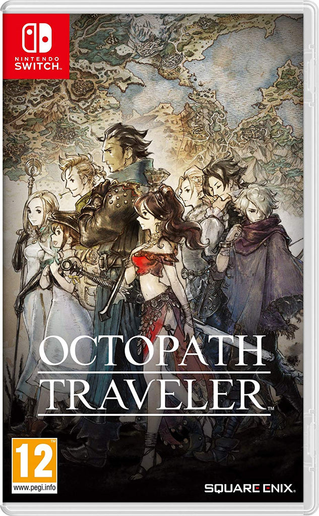 Octopath Traveler (Nintendo Switch) - Offer Games