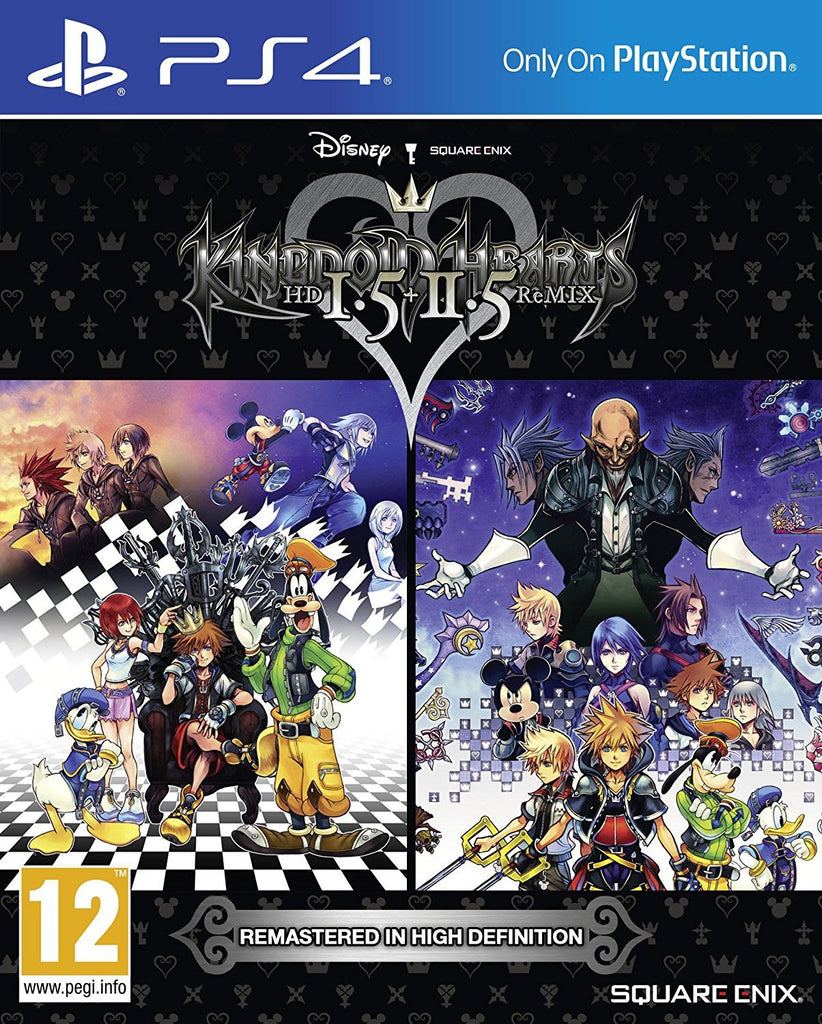 Kingdom Hearts HD 1.5 and 2.5 Remix (PS4) - GameIN