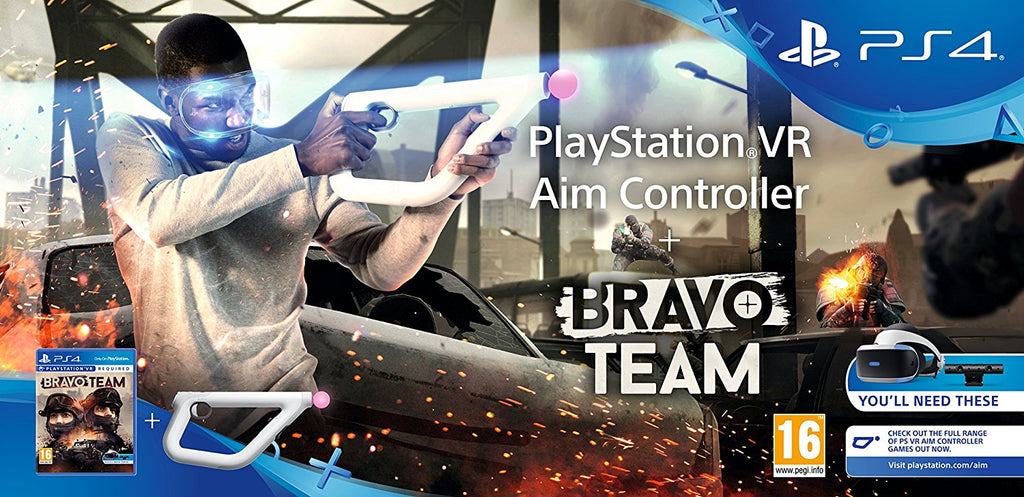Bravo Team + Aim Controller Bundle (PSVR) - Offer Games