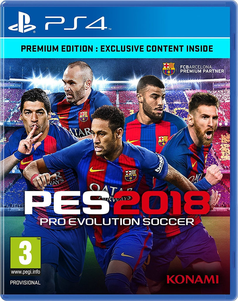PES 2018 (PS4) - GameIN