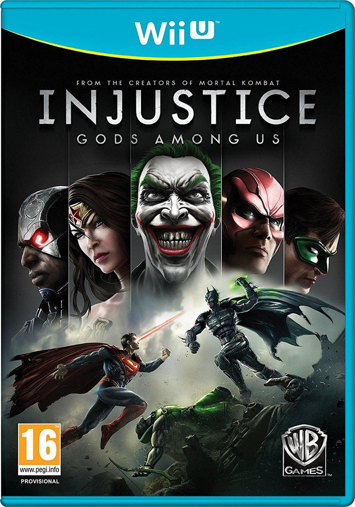 Injustice: Gods Among Us (Wii U) - Offer Games