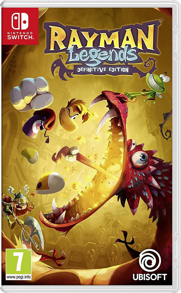 Rayman Legends Definitive Edition (Nintendo Switch) - Offer Games