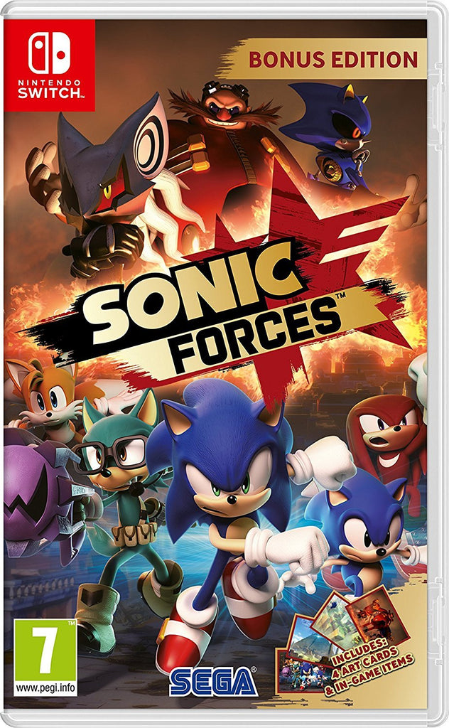 Sonic Forces Bonus Edition (Nintendo Switch) - Offer Games
