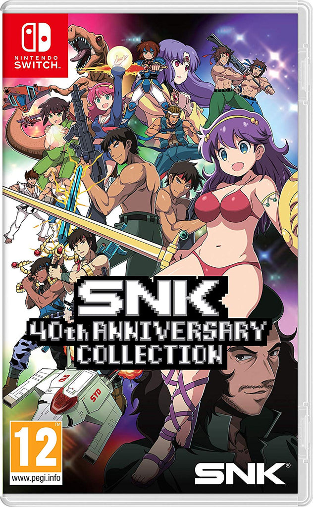 SNK 40th Anniversary Collection (Nintendo Switch) - Offer Games