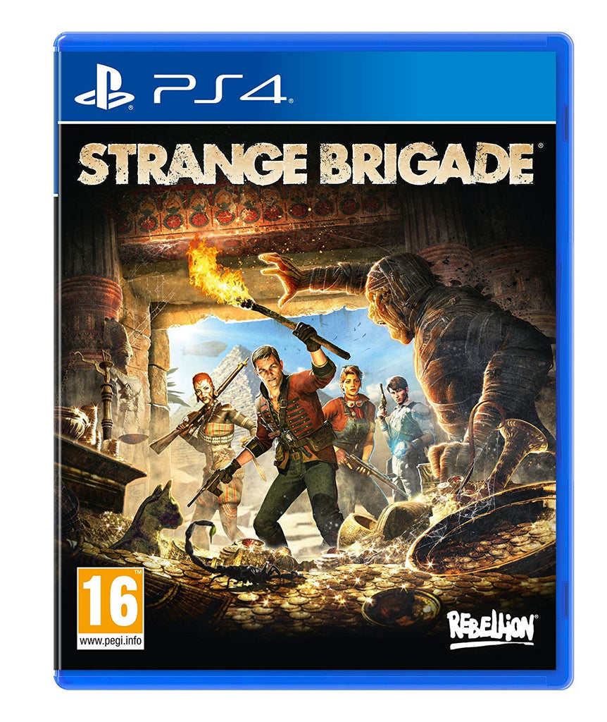 Strange Brigade (PS4) - Offer Games