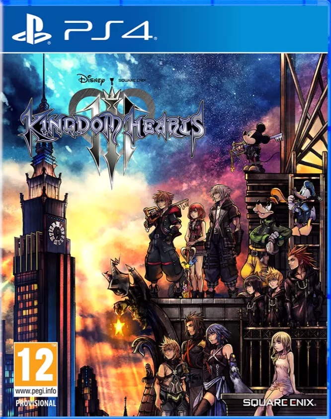 Kingdom Hearts 3 (PS4) - Offer Games