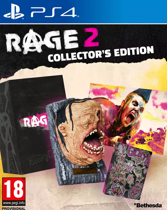 RAGE 2 Collectors Edition (PS4) - Offer Games