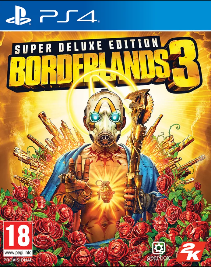 Borderlands 3 Super Deluxe Edition (PS4) - Offer Games