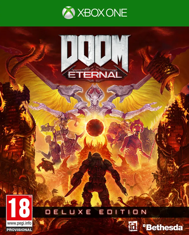 Doom: Eternal Deluxe Edition (Xbox One)