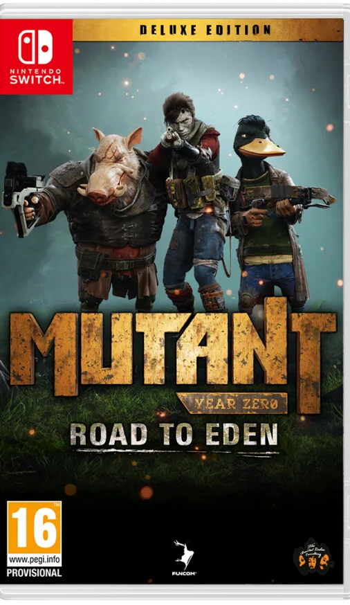Mutant Year Zero - Road to Eden Deluxe Edition (Nintendo Switch)