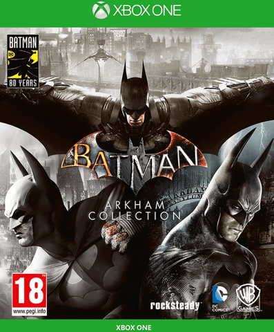 Batman: Arkham Collection Steelbook Edition (Xbox One)