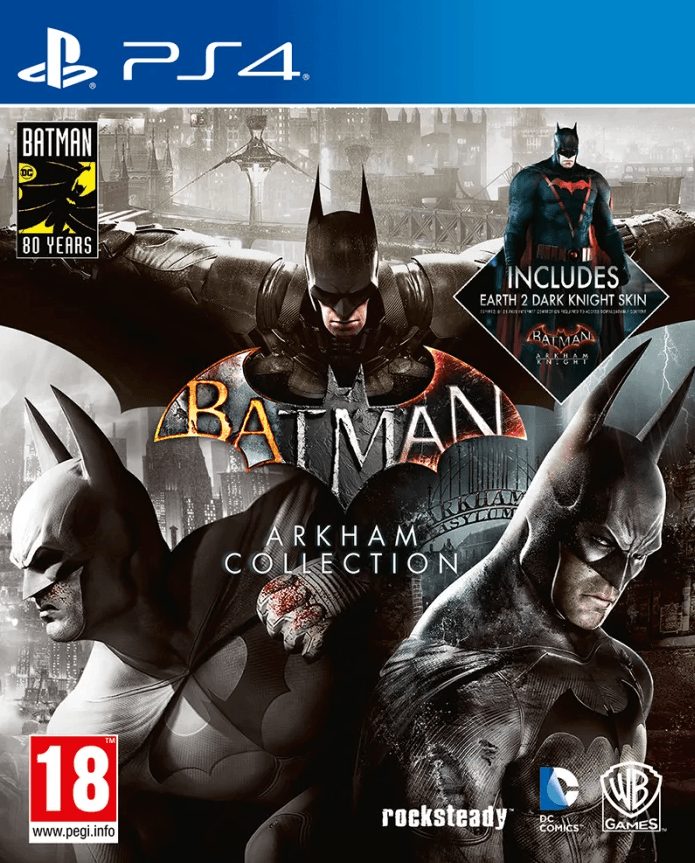 Batman: Arkham Collection (PS4) - Offer Games