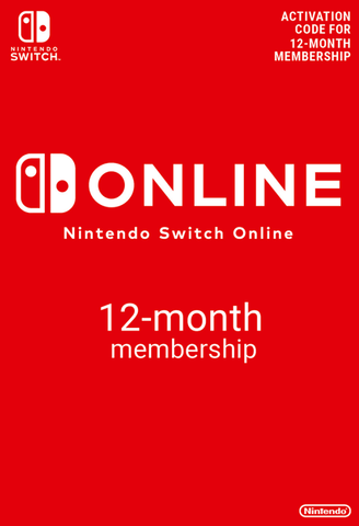 Nintendo Switch Online Membership - 12 Months (Nintendo Switch Download)