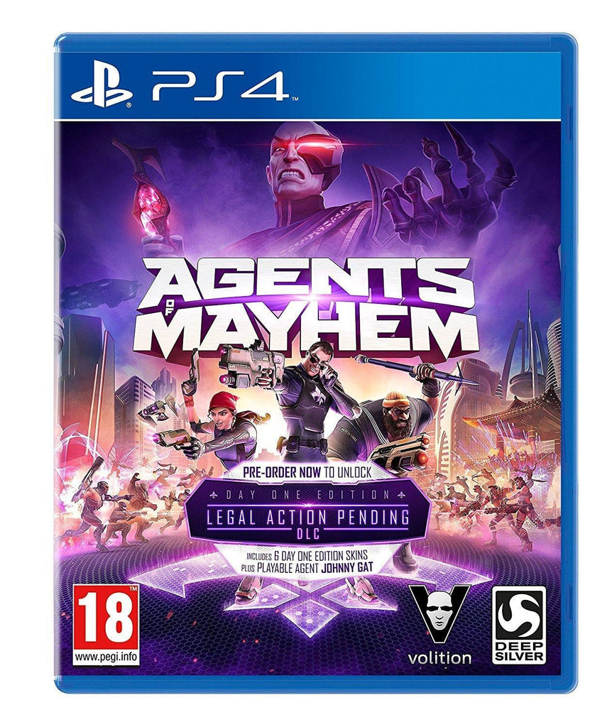 Agents of Mayhem: Day One Edition (PS4) - GameIN