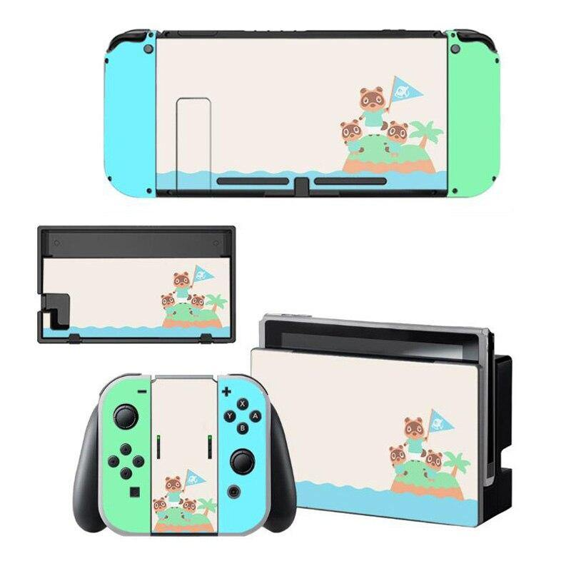 Animal Crossing Protective Console & Accessory Skin Covers (Nintendo Switch)