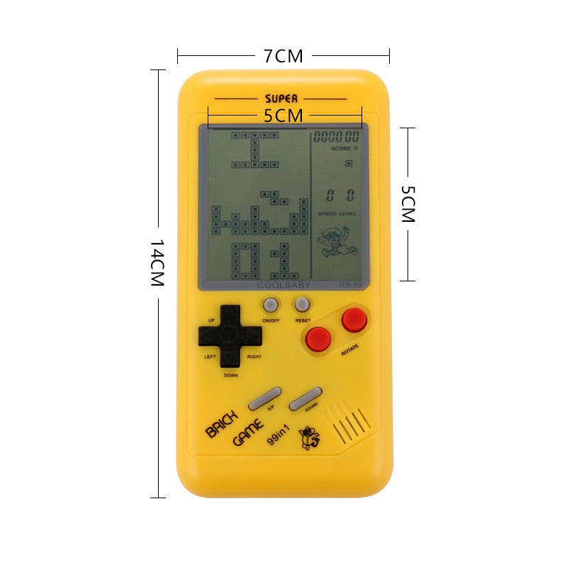 Retro Tetris Handheld LCD Console - Offer Games