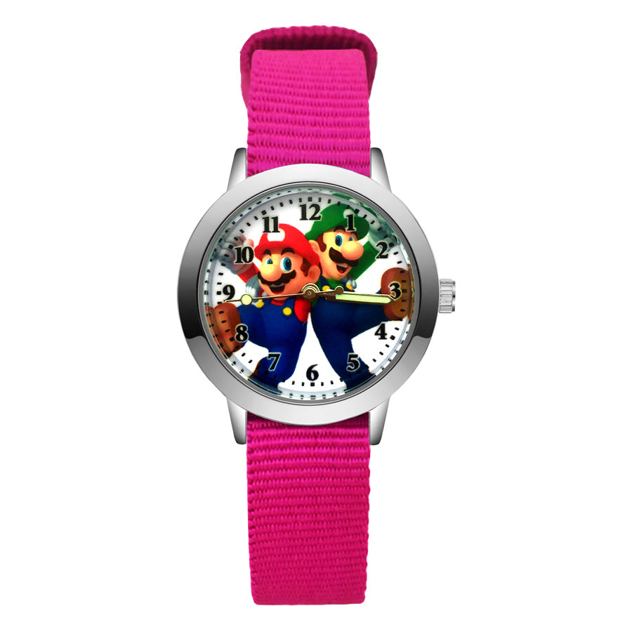 Mario & Luigi Children's Watch - Offer Games