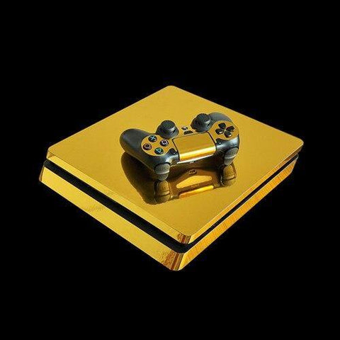 Gold Silver Blue Red PS4 Sticker Skin