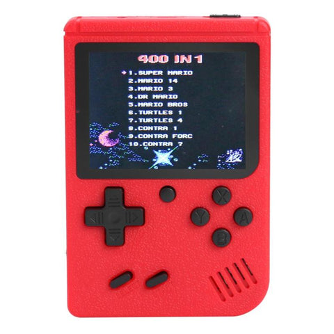 Handheld Console - 400 Retro Classic Games (4 colours) - Offer Games